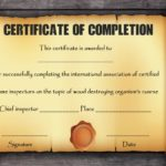 Certificate Scroll Template