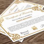 Indesign Certificate Template
