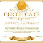 Certificate Border Design Templates
