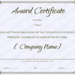 Downloadable Certificate Templates For Microsoft Word