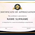Employee Recognition Certificates Templates Free
