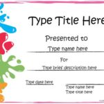Free Printable Certificate Templates For Kids