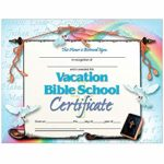 Free Vbs Certificate Templates
