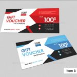 Gift Certificate Template Indesign