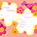 Kids Gift Certificate Template
