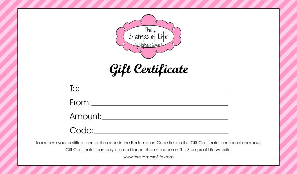 Nail Gift Certificate Template Free