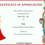 Pageant Certificate Template