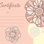 Pink Gift Certificate Template