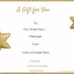 Present Certificate Templates
