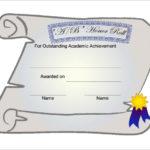 Scroll Certificate Templates