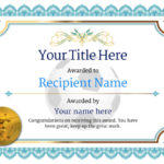 Soccer Certificate Templates For Word