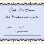 This Certificate Entitles The Bearer Template