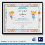 Word 2013 Certificate Template