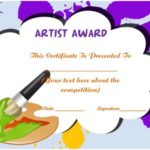 Art Certificate Template Free