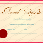 Best Employee Award Certificate Templates