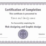 Ceu Certificate Template