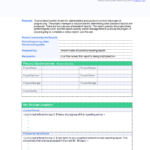 Executive Summary Project Status Report Template