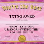 Free Funny Award Certificate Templates For Word