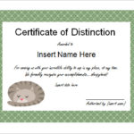 Free Funny Certificate Templates For Word