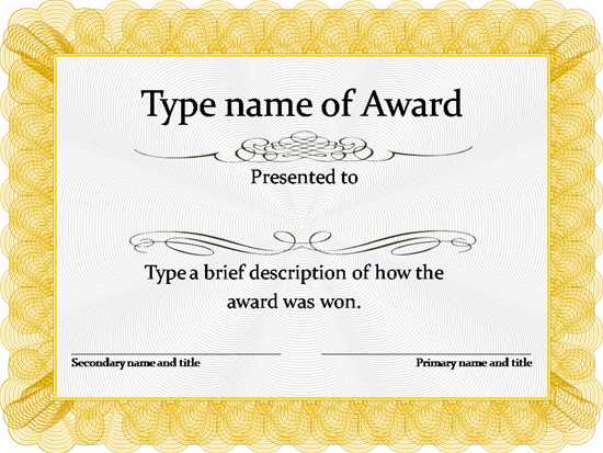 Homemade Gift Certificate Template