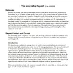 Introduction Template For Report