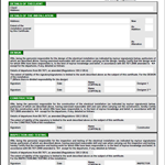 Minor Electrical Installation Works Certificate Template