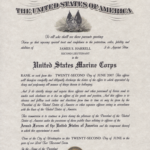Officer Promotion Certificate Template