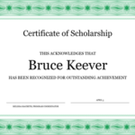 Professional Award Certificate Template