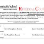 Referral Certificate Template