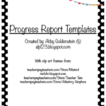 Speech And Language Report Template