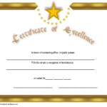 Star Certificate Templates Free