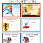 Track And Field Certificate Templates Free
