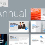 Annual Report Ppt Template