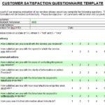 Customer Satisfaction Report Template