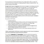 Hr Management Report Template