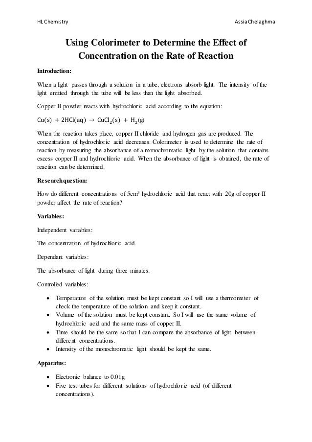 Ib Lab Report Template