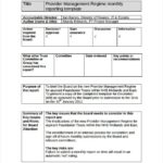 It Management Report Template