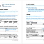 Microsoft Word Templates Reports