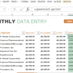 Sale Report Template Excel