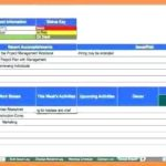 Software Development Status Report Template