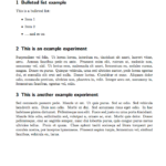 Technical Report Template Latex