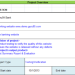Test Closure Report Template