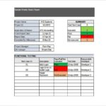 Testing Weekly Status Report Template