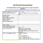 Workplace Investigation Report Template
