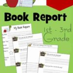 1St Grade Book Report Template