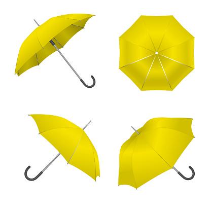 Blank Umbrella Template