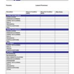 Check Out Report Template