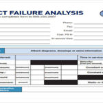 Failure Analysis Report Template