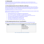 Implementation Report Template