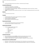 Lab Report Conclusion Template